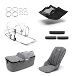 bugaboo fox Classic style set completo GREY MELANGE